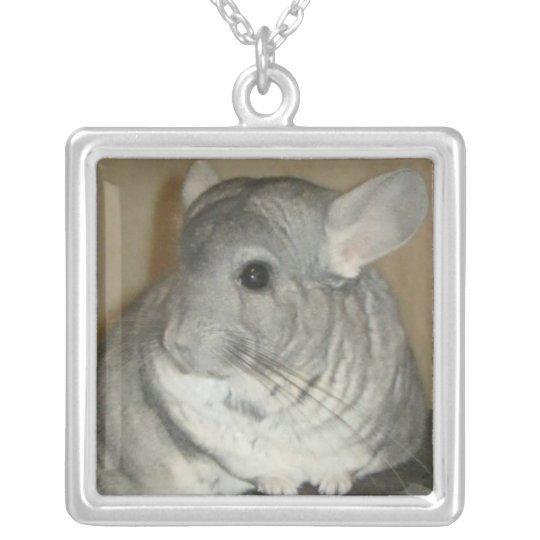 Chinchilla Necklace (square)
