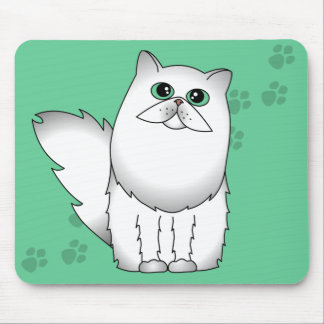 Chinchilla Persian Cat Mouse Pad