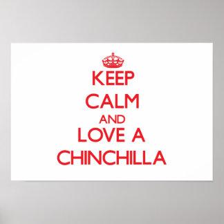 Chinchilla Posters