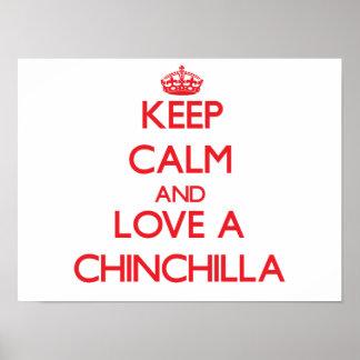 Chinchilla Poster