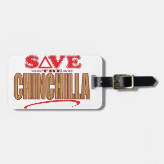 Chinchilla Save Bag Tag