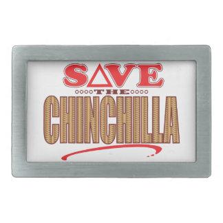 Chinchilla Save Belt Buckle