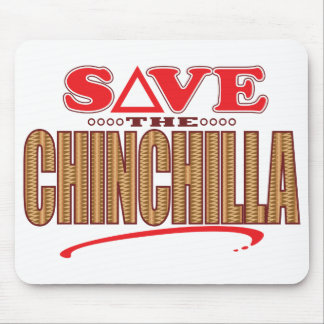 Chinchilla Save Mouse Pad