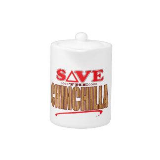 Chinchilla Save Teapot