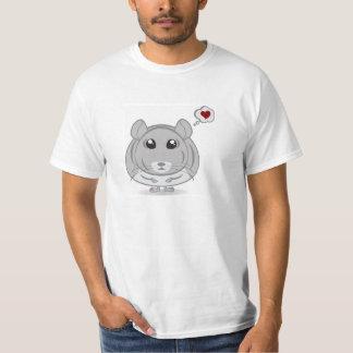 Chinchilla Thought Bubble Love T-shirt