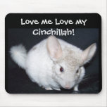 chinchillah Mousepad Tapetes De Ratón