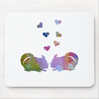 Chinchillas Mouse Pad