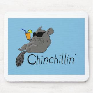 chinchillin mouse pad