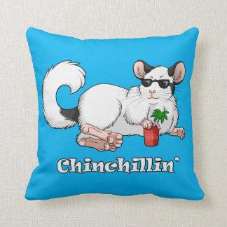 Chinchillin' Throw Cushion 41 cm x 41 cm