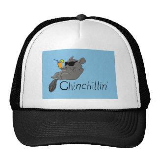chinchillin trucker hat