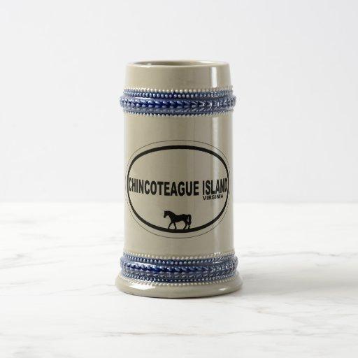Chincoteague Island. Coffee Mugs