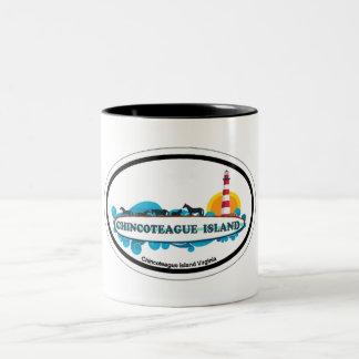 Chincoteague Island. Mugs
