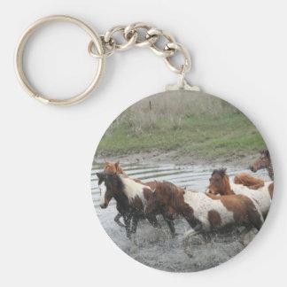 Chincoteague Ponies Keychain