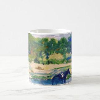 Chincoteague Ponies Painting Coffee Mug