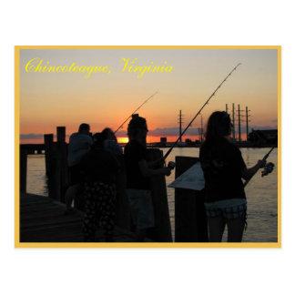Chincoteague, Virginia postcard