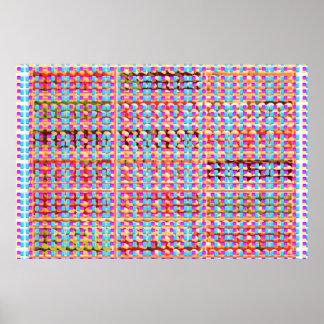 CHINDI Weave Carpet Art Poster