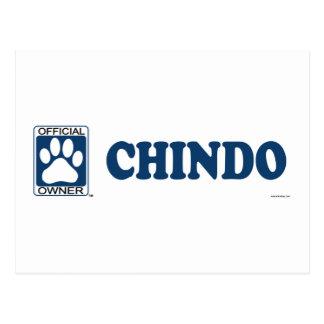 Chindo Black Postcard