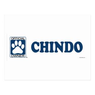 Chindo Blue Postcard