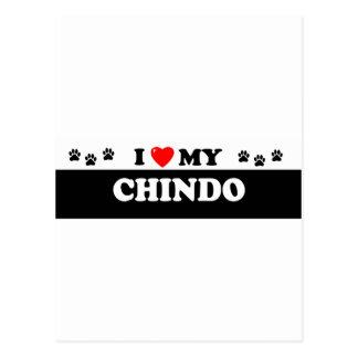 CHINDO POSTCARD