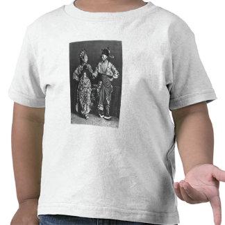 Chinese actors, c.1870 (b/w photo) t shirts
