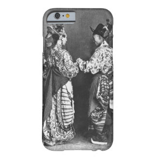 Chinese actors from behind, c.1870 (b/w photo) barely there iPhone 6 case