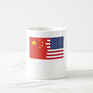 Chinese American Flag Coffee Mug