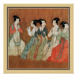 Chinese Ancient Painting,  ladies Poster