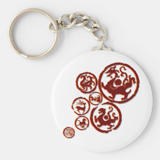 Chinese ancient symbol and art keychain
