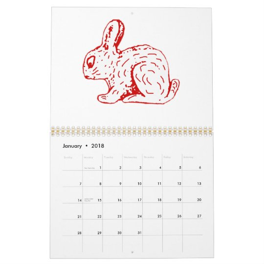 Chinese Animal Zodiac Fook  Calendar