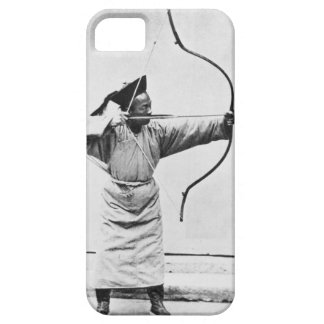 Chinese archer, c.1870 (b/w photo) iPhone SE/5/5s case