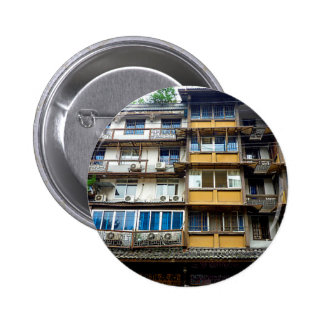 Chinese Architecture Button