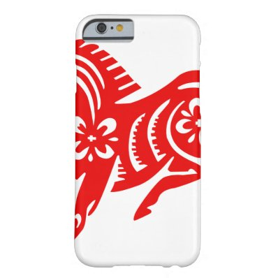 Chinese Asian Oriental Horse Barely There iPhone 6 Case
