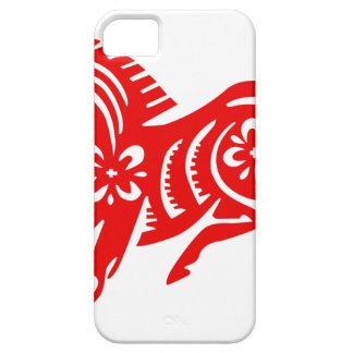 Chinese Asian Oriental Horse iPhone 5 Cases