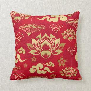 Lotus Flower Decorative Throw Pillows Zazzle
