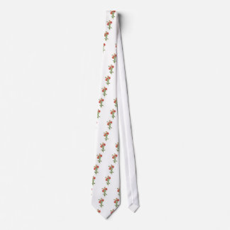 Chinese Asters Drawn From Nature Tie