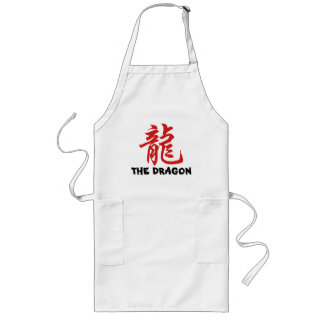 Chinese Astrology Sign Dragon Long Apron