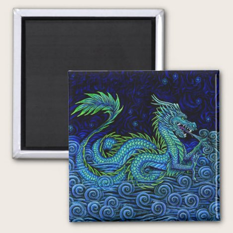 Chinese Azure Dragon Magnet