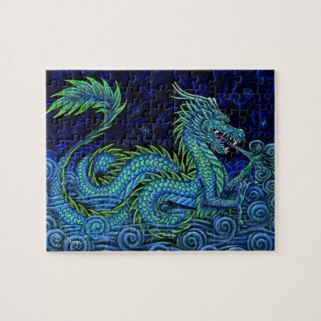 Chinese Azure Dragon Puzzle