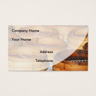 Chinese Bamboo Steamers Business Card