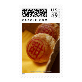 Chinese bean paste pastry with Chinese character Stamp
