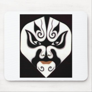 Chinese Beijing Opera China Japan Japanese Mask Mouse Pad