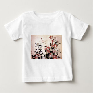 Chinese Bell Flower and Dragonfly Baby T-Shirt
