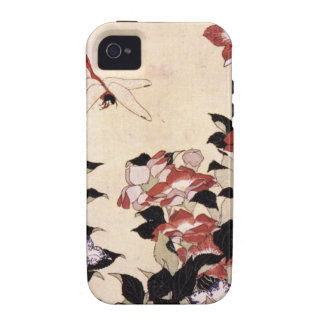 Chinese Bell Flower and Dragonfly Vibe iPhone 4 Cases