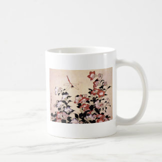 Chinese Bell Flower and Dragonfly Coffee Mug