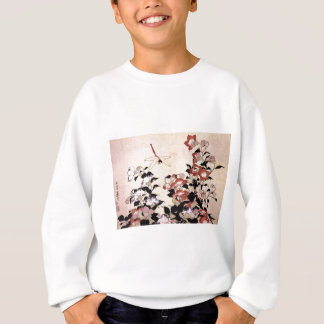 Chinese Bell Flower and Dragonfly Sweatshirt