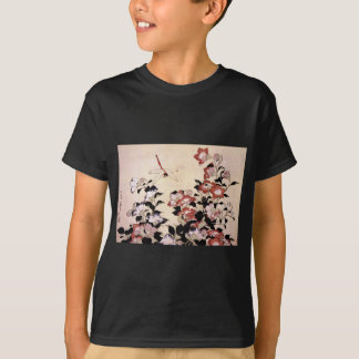 Chinese Bell Flower and Dragonfly T-Shirt