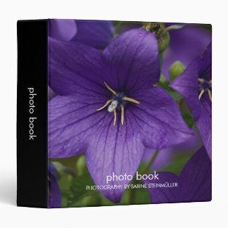 Chinese Bellflower Photo Book Binder
