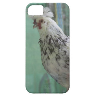 Chinese Black and White Funky Chicken Dance iPhone SE/5/5s Case