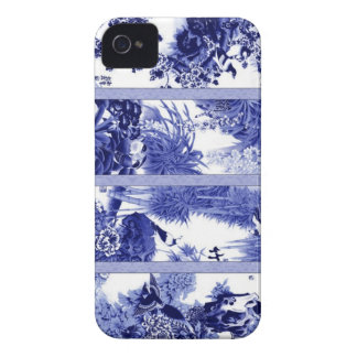 Chinese Blue and White Porcelain iPhone 4 Case-Mate Cases