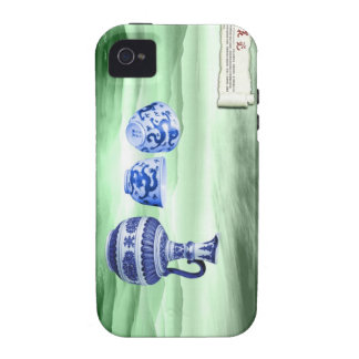 Chinese Blue and White Porcelain Case-Mate iPhone 4 Case